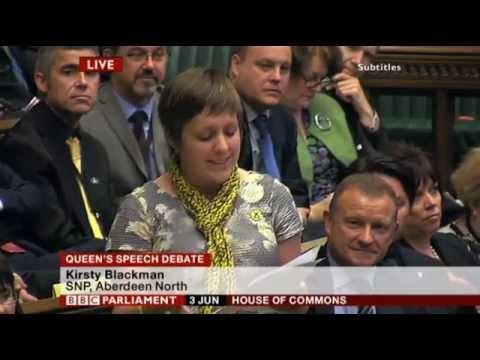 kirsty Blackman snp maiden speech