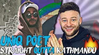 Uniq Poet Is On Fire | Uniq Poet - Straight Outta Kathmandu Reaction