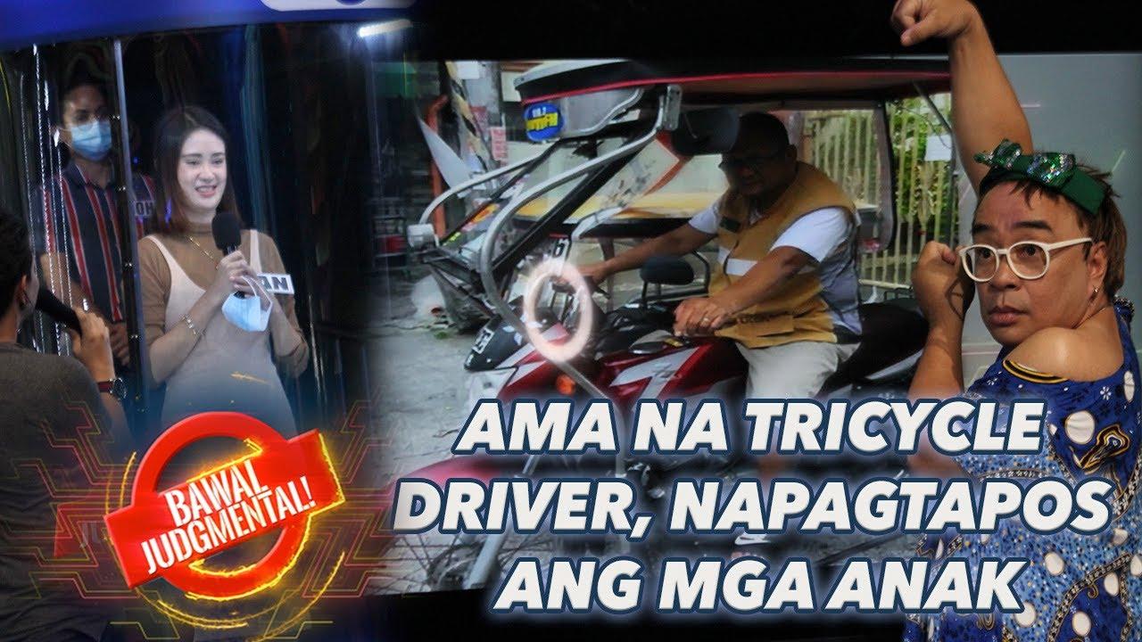AMA NA TRICYCLE DRIVER, NAPAGTAPOS ANG MGA ANAK   Bawal Judgmental   July 10, 2020