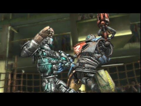 REAL STEEL THE VIDEO GAME - METRO Vs ATOM