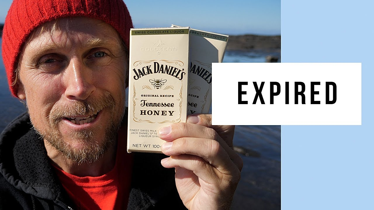 Eating Expired Jack Daniel's Tennessee Honey Liqueur Chocolate