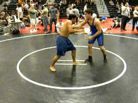 Tyler Balm Grappling Bout 3