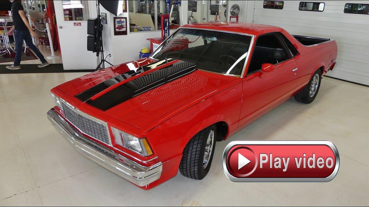 hight resolution of sold sold sold 1978 chevrolet el camino tv car ac 350ci 700r4 auto