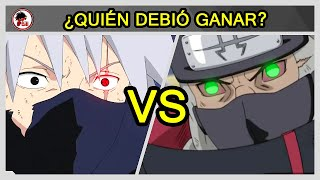 Naruto: Kakashi Vs Kakuzu - QUIÉN DEBIÓ GANAR