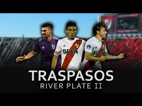 Mercado de Pases River Plate 2019/  Posibles Refuerzos + Posibles Bajas #2