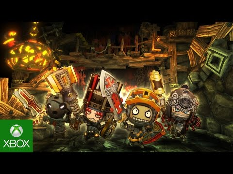 Happy Dungeons for Xbox One Game Preview Launch Trailer