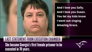 Audio: Kelly Gissendaner's last statement before execution