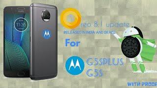 Oreo 8.1 Official Update For Moto G5splus And MotoG5s | Soak Test | 32 or 64 bit ??