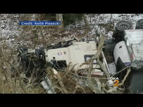 I-70 Closed For Several Hours After Tractor Trailer Crashes
