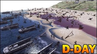 [HISTORICAL] D-DAY OMAHA BEACH LANDING - Saving Private Ryan - Men of War AS2 Editor Scenario #90