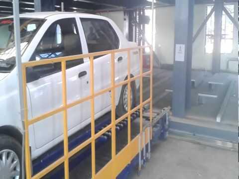 Automatic Multilever Car Parking at Kankaria, Ahmedabad