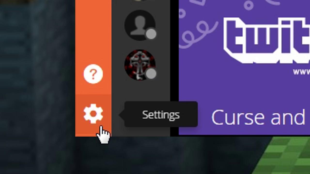 Managing Mods: Curse