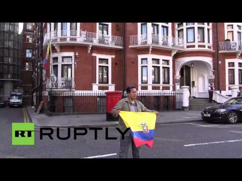 "UK: ""Three years too long"" - Assange remains in Ecuador's Embassy"