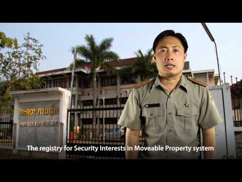 Lao Security Interest in Moveable Property