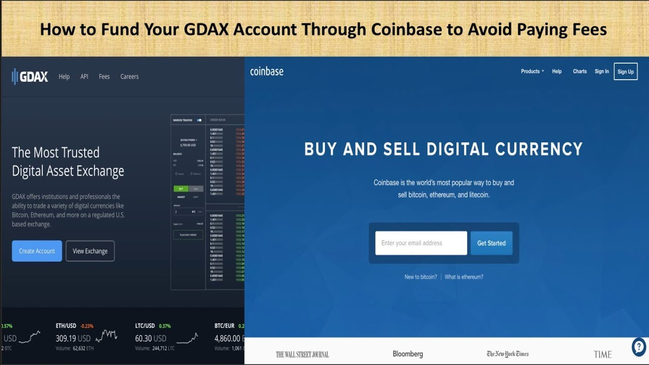coinbase login for gdax