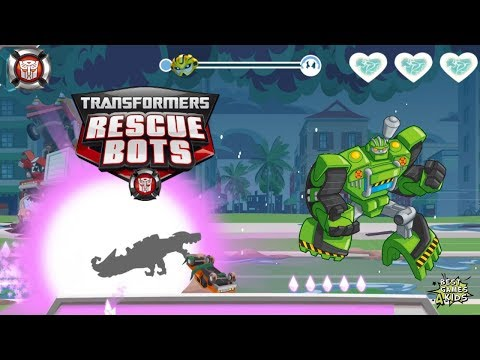 Transformers Rescue Bots: Disaster Dash Hero Run #231 | COMPLETE exciting missions!