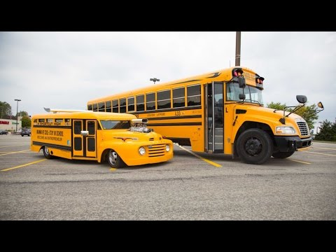 Souped Up School Bus: Custom Motor Helps Charities Across The World