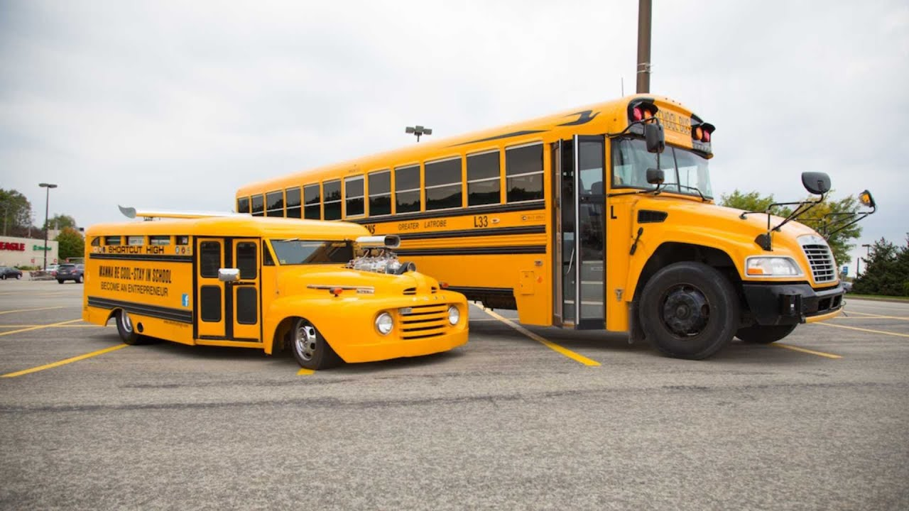 Souped Up School Bus Custom Motor Helps Charities Across