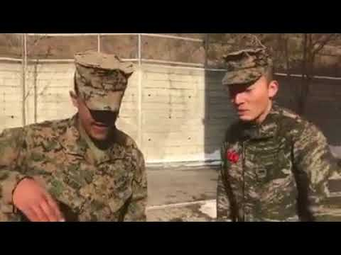 ROK and US Marine bust a beat