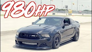 980HP Stick Shift Mustang VS AWD!  811HP Evo X - 1000HP 3000GT VR4 - 800HP GTR