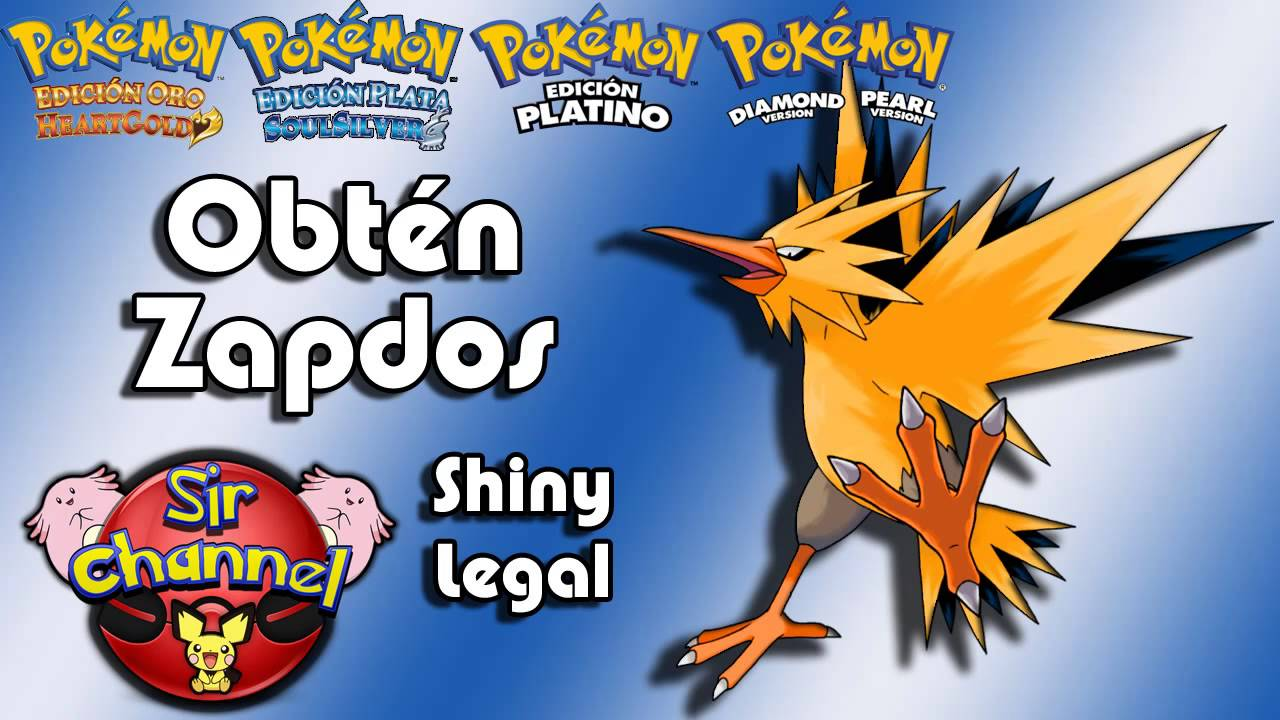 how to get zapdos in soul silver