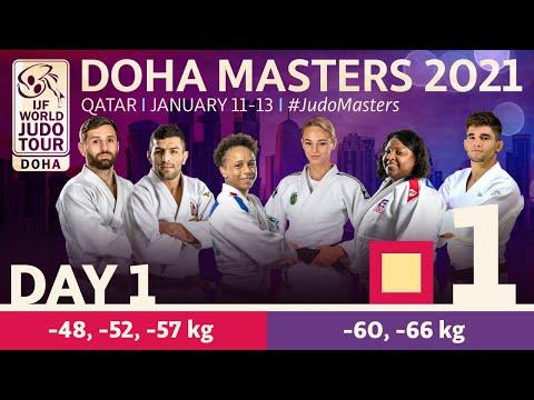 Day 1 - Tatami 1: Doha World Judo Masters 2021