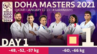 Day 1 - Tatami 1: Doha World Judo Masters 2021