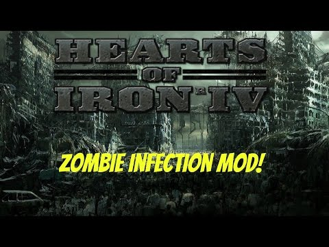 Hearts of Iron 4 - Let's Look at Zombie Infection Mod! by TheBillyBobHD