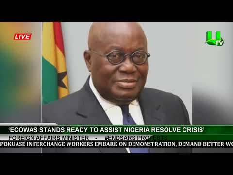 #Endsars Protests: 'ECOWAS Stands Ready To Assist Nigeria Resolve Crisis'-Foreign Affairs Minister