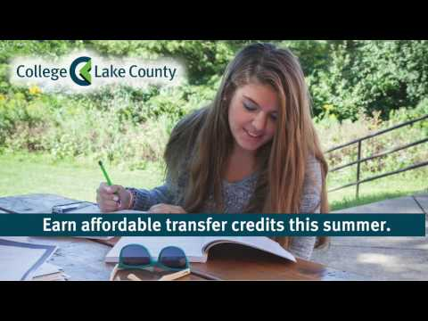 Four reasons to enroll at College of Lake County this summer