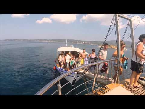 Cruise to Mount Athos 2 & 3 - From Ormos Panagias to Mount Athos