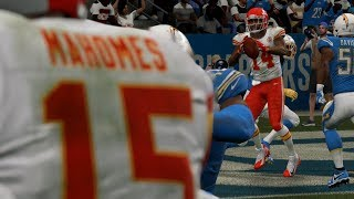 NFL Monday Night Football 11/18 Kansas City Chiefs vs Los Angeles Chargers Full Game Week 11 Madden