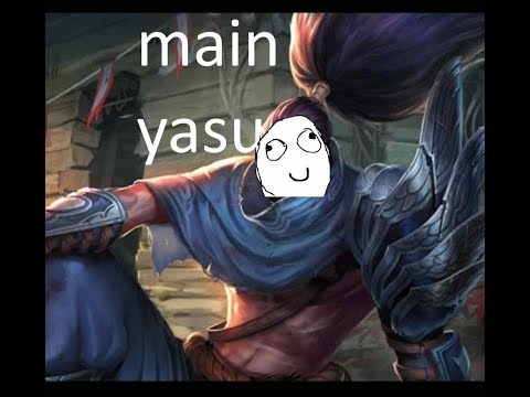 [ITA] YASUO MAIN DESTROY SOLOQ - YASUO MID - League Of Legends