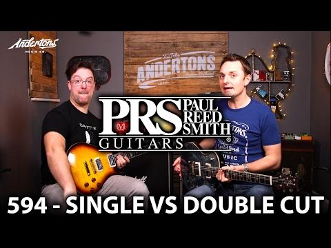PRS 594 Guitar Shootout - a 594 Singlecut vs a 594 Custom