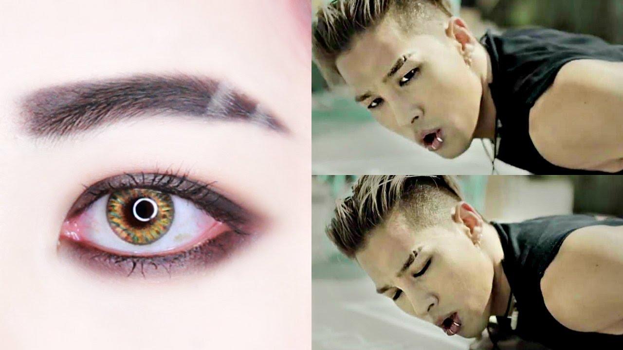 Taeyang 태양 Bigbang Loser Female Makeup Tutorial Youtube