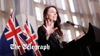 video: Watch: Earthquake distracts Jacinda Ardern during press conference
