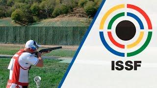 Finals Trap Men - 2015 ISSF Rifle, Pistol, Shotgun World Cup in Gabala (AZE)