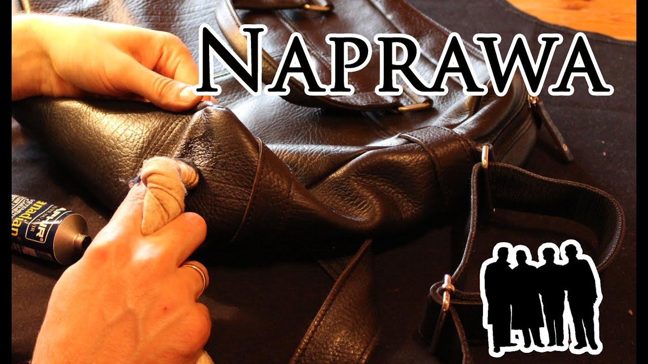 Naprawa skórzanej torby na ramię Czas Gentlemanów dla