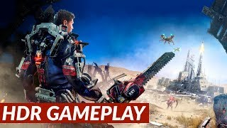The Surge - HDR gameplay [PS4 Pro]