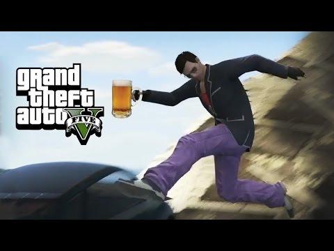 DRUNK DRIVING - GTA 5 Gameplay