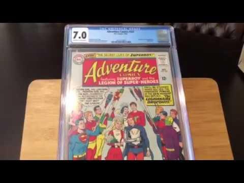 CGC comic book unboxing live- Marvel & DC
