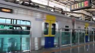 분당선 죽전역에 들어온 죽전행 열차 (Bundang Line Jukjeon Station)
