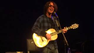 """""""Before We Disappear"""" Chris Cornell@Strand Theatre York, PA 10/24/15 Higher Truth Tour"""
