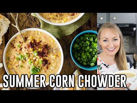 How to Make Summer Corn Chowder