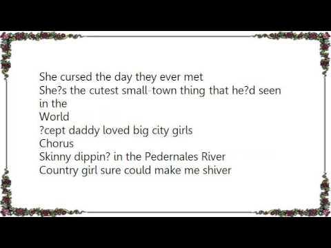 Charlie Robison - Big City Blues Lyrics