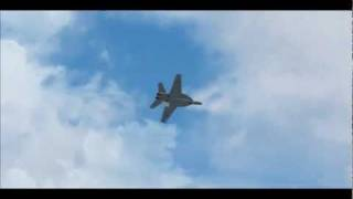 FSX F/A-18E Super Hornet Tactical Demo HD VRS Superbug Part 1