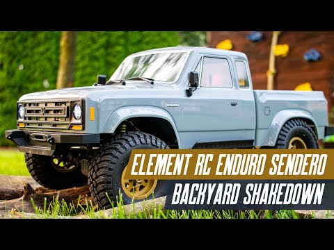 Element RC Enduro Sendero - Backyard Shakedown