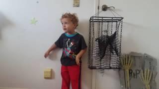 Hanging shaking prisoner