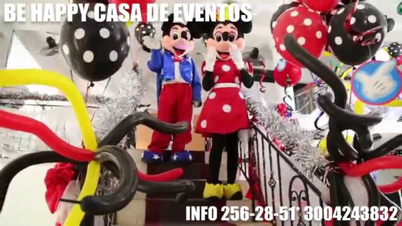 Fiesta tematica de mickey mouse youtube - Fiesta tematica mickey mouse ...