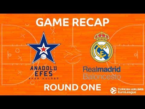 Highlights: Anadolu Efes Istanbul - Real Madrid